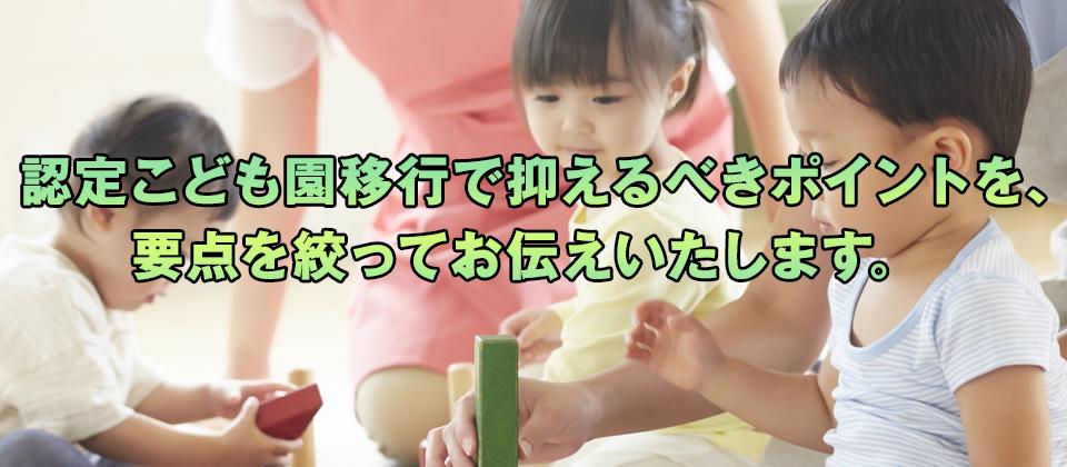 【webセミナー】認可保育所向け認定こども園セミナー