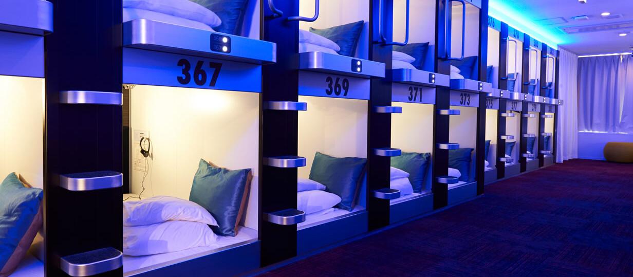 カプセルホテル事業新規立ち上げ支援