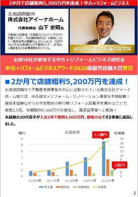 中古+リフォームビジネスアワード2021