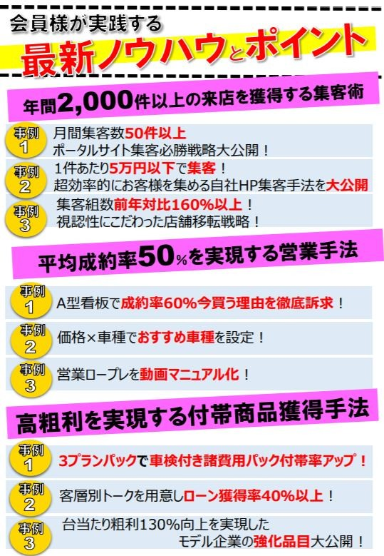 軽39.8万円専門店会無料説明会のご案内