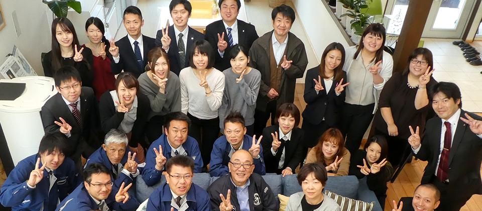 5年で10棟から65棟へ急成長!省エネ住宅分野で県内No.1企業へ。
